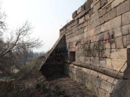 Остаток крепостной стены 1556 года